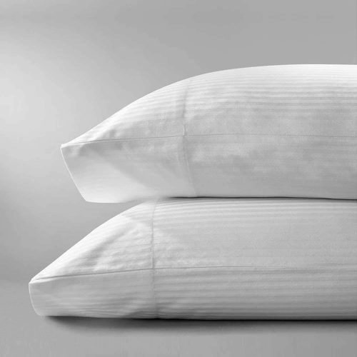 Deluxe Stripe Pillow Case (Queen – 2 Pack)