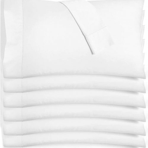 Premium Pillow Case – White (Standard – 6 Pack)