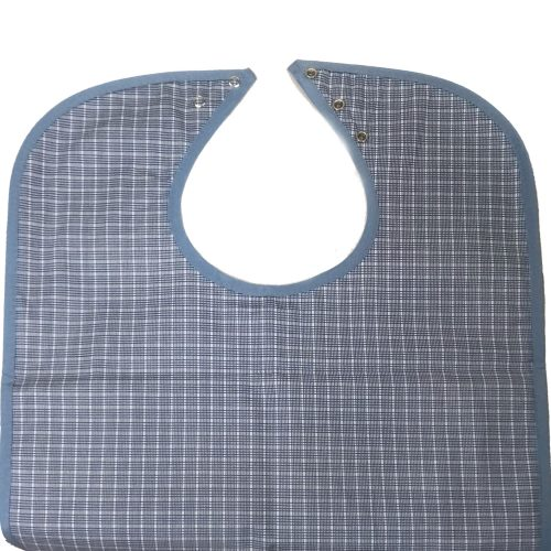 HYGIENX Reusable Adult Bib (Blue, 3 Pack)