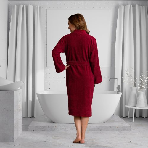 Unisex Bathrobe Luxury Turkish Cotton Robe