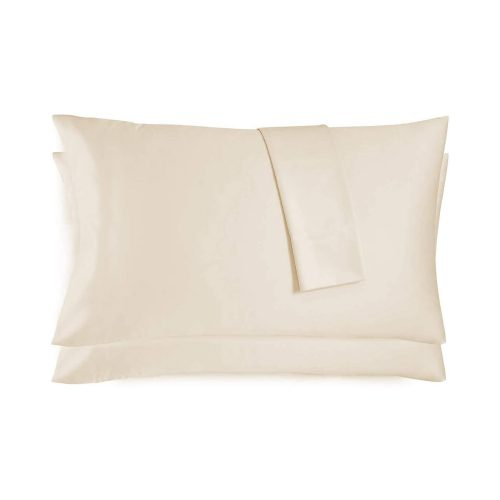 Premium Pillow Case – Bone Color (Queen – 2 Pack)