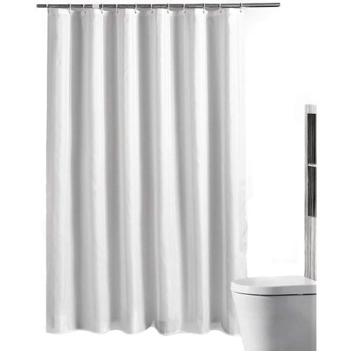 Premium Shower Curtain Hooks (Plain White 72″x72″)