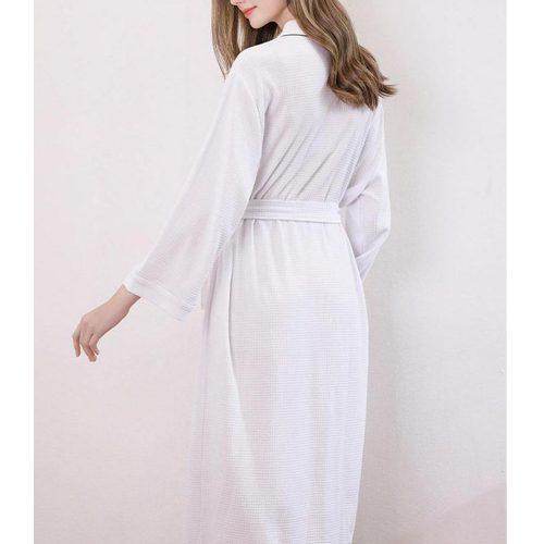 Men & Women Luxury Waffle Bathrobe