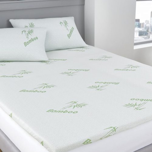 Bamboo Waterproof Mattress Protector – Fitted – Full (54″x80″x14″)